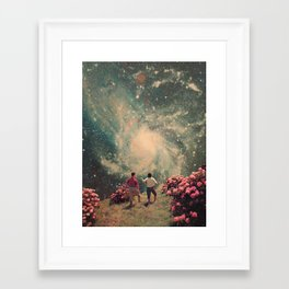 There will be Light in the End Framed Art Print