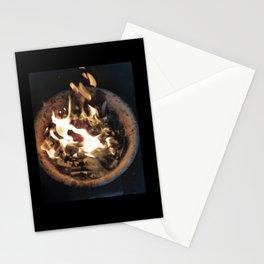 Flaming Ashtray Stationery Cards