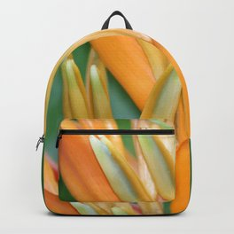 Big Helicona Tropical Flower Blossom #heliconia #society6 Backpack