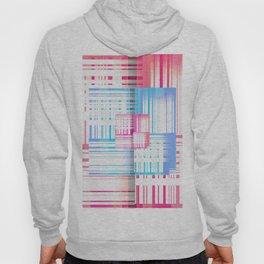 Abstract Vibrant Optical Illusion Geometric Pop Print Hoody
