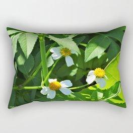 Nodding Beggar-Ticks Rectangular Pillow