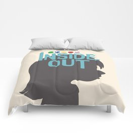 Inside Out - Minimal Movie Poster Comforters