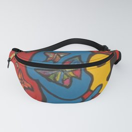 SKIN DEEP  (ORIGINAL SOLD)  #Society6  #decor  #buyart Fanny Pack