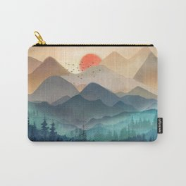 Wilderness Becomes Alive at Night Carry-All Pouch