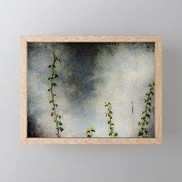 Vines and Stone Framed Mini Art Print