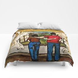 An Open Window Comforters