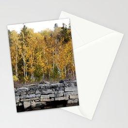 Neebish Rock Cut Stationery Cards