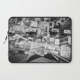 Chicago from the top Laptop Sleeve