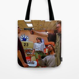 Mark It Zero inspired by the Big Lebowski Tote Bag