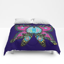 PSYCHEDELIC BUTTERFLY  Comforters