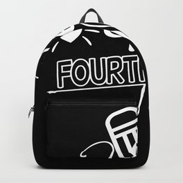 Back to School Hello 4th Grade School Backpack