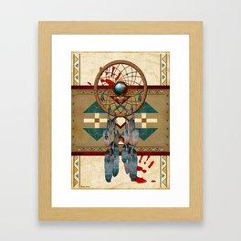 Catching Spirit Native American Framed Art Print