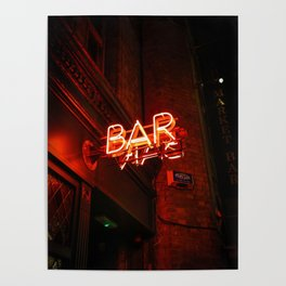 BAR (Color) Poster