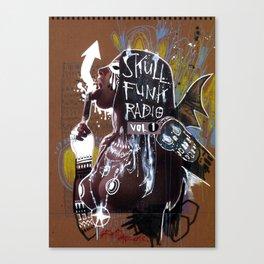 SKULL FUNK RADIO VOL. 1 Canvas Print