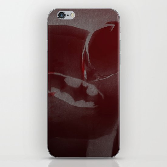 batmaninjured iPhone & iPod Skin