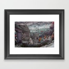 Home for the Harbor Framed Art Print