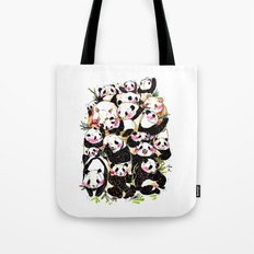 Wild Family Series - Afternoon Tea Panda Tote Bag