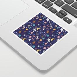 Galaxy space Sticker