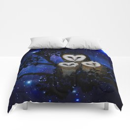 Owl Family Comforters
