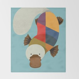 Platypus Throw Blanket