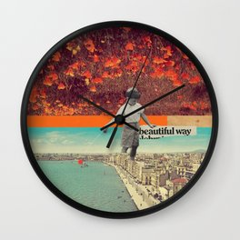 Beautiful Way Wall Clock