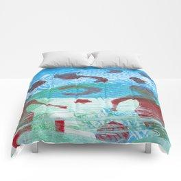 earth gazers Comforters