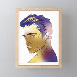 Elvis Presley Framed Mini Art Print