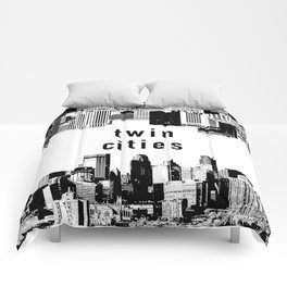 Twin Cities Minneapolis and Saint Paul Minnesota Comforters