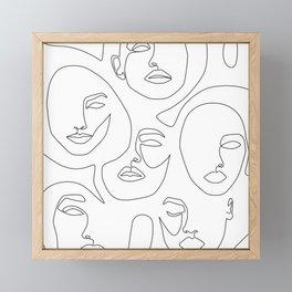 Her and Her Framed Mini Art Print