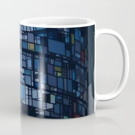Stained glass water tower Coffee Mug