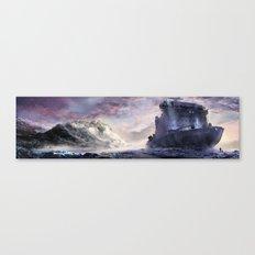 Abandoned cruiser Canvas Print