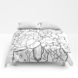 Floral Collage Comforters