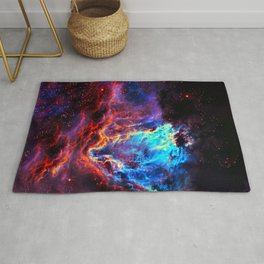 Colored Universe Rug