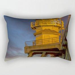 Zero After Dark Rectangular Pillow