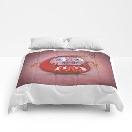 Happy Daruma Comforters