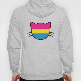 Pansexual Flag Cat Hoody