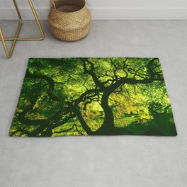 Green is the Tree Rug