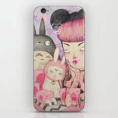 Noodle Eater iPhone & iPod Skin