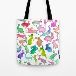 Watercolour Bunnies Tote Bag