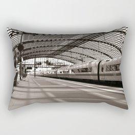 Train-Station of Berlin Rectangular Pillow