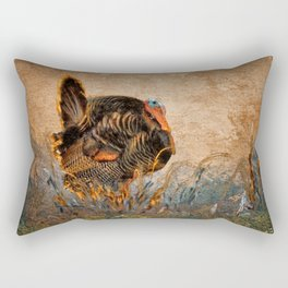 Wild Turkey Rectangular Pillow