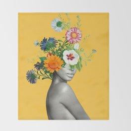 Bloom 5 Throw Blanket