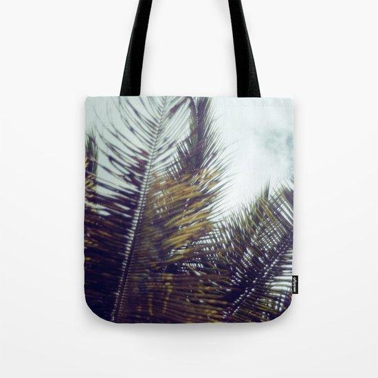 Palm Sky II Tote Bag
