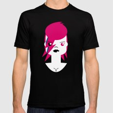 Ziggy Stardust (Bowie) Black Mens Fitted Tee 2X-LARGE