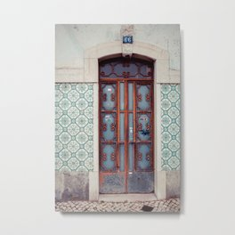 The Iron Door Metal Print
