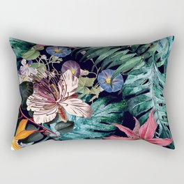 Flowers Tropical Rectangular Pillow