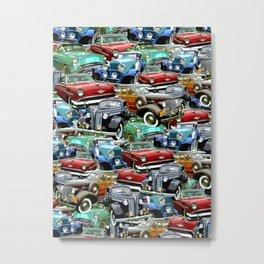 Classic Cars (K.T.B.) Metal Print