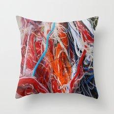 Linear1 Throw Pillow