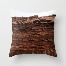 Colorado Mountain Texture v4 Throw Pillow