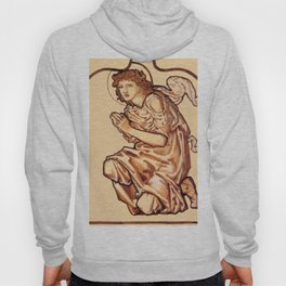 """Edward Burne-Jones """"Daniel, cartoon for stained-glass window at St. Martins-on-the-Hill, Scarborough Hoody"""